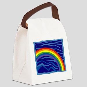 Rainbow-16-[Converted] Canvas Lunch Bag